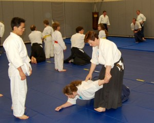 Students of all ages and rank can enjoy Aikido.